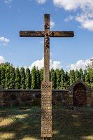 Žaslių Šv. Jurgio bažnyčia 5048 · kryžius šventoriuje