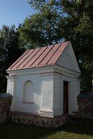 Čiobiškio Šv. Jono Krikštytojo bažnyčia · šventoriaus koplyčia 5106