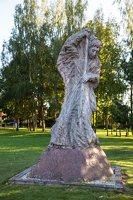 Musninkai · skulptūra arkangelui Mykolui 5198