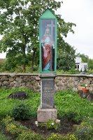 Pavoverės Šv. Kazimiero bažnyčia · šventorius 5210