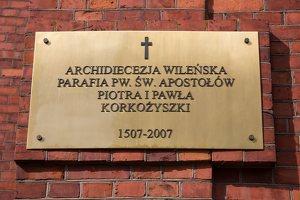 Karkažiškės Šv. apaštalų Petro ir Povilo bažnyčia 5229