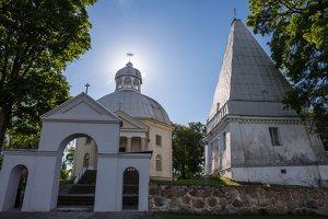 Buivydžiai · Šv. Jurgio bažnyčia ir Radziševskių koplyčia 5250