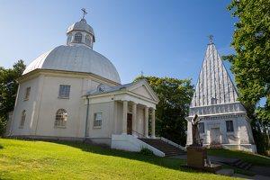 Buivydžiai · Šv. Jurgio bažnyčia ir Radziševskių koplyčia 5276