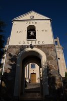Šumsko Šv. arkangelo Mykolo bažnyčia 5328 · varpinė, Jesu in te confido