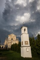 Šumsko Šv. arkangelo Mykolo bažnyčia 5416 · koplytėlė šventoriuje