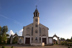 Kalvelių Dievo Gailestingumo bažnyčia 5435