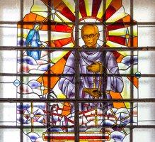 Šalčininkų Šv. apaštalo Petro bažnyčia 5518 · vitražas