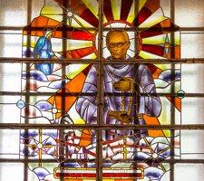 Šalčininkų Šv. apaštalo Petro bažnyčia 5519 · vitražas