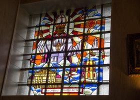 Šalčininkų Šv. apaštalo Petro bažnyčia 5523 · vitražas