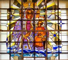 Šalčininkų Šv. apaštalo Petro bažnyčia 5526 · vitražas