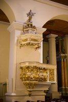 Eišiškių Kristaus Karaliaus Žengimo į dangų bažnyčia 5551 · sakykla