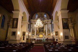 Eišiškių Kristaus Karaliaus Žengimo į dangų bažnyčia 5552 · presbiterija