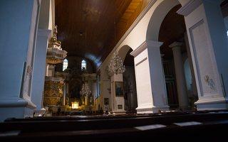 Eišiškių Kristaus Karaliaus Žengimo į dangų bažnyčia 5556 · interjeras