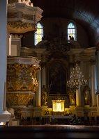 Eišiškių Kristaus Karaliaus Žengimo į dangų bažnyčia 5557 · sakykla