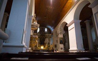 Eišiškių Kristaus Karaliaus Žengimo į dangų bažnyčia 5558 · interjeras