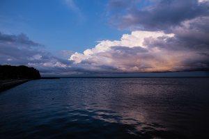 Juodkrantė · saulėlydis, debesys 5838