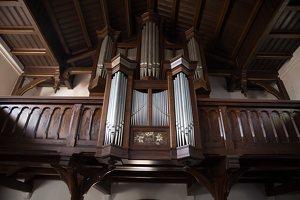 Nidos evangelikų liuteronų bažnyčia · vargonai 6181