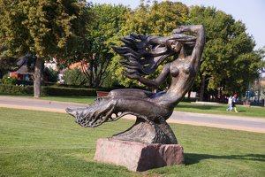 "Nida · skulptūra ""Neringa"" 6186"