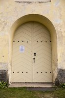 Rykantų Švč. Trejybės bažnyčia · durys 6612
