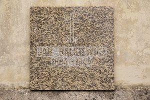Rykantų Švč. Trejybės bažnyčia · paminklinė lenta Jan Balkewicz