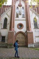 Senieji Trakai · bažnyčios fasadas 6641