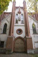 Senieji Trakai · bažnyčios fasadas