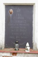 Senieji Trakai · paminklas šventoriuje 6647