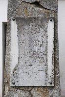 Senieji Trakai · paminklas šventoriuje 6649
