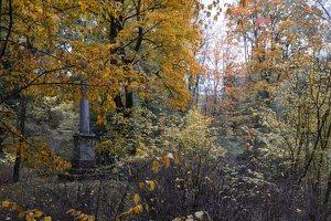 Lentvario dvaras · Andrė parkas, ruduo 6686