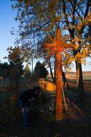 senosios Onuškio kapinės · partizanų kapai 6976