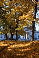Trakų Vokės dvaro rūmai · Andrė parkas, ruduo 6854