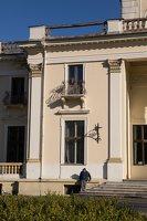 Trakų Vokės dvaro rūmai · kiemo fasadas 6865