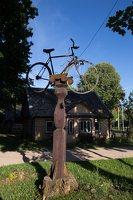 Antalieptė · paminklas dviračiui 4112