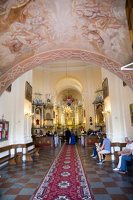 Liškiavos Švč. Trejybės bažnyčia · interjeras 4178