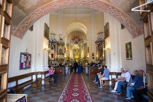 Liškiavos Švč. Trejybės bažnyčia · interjeras 4180