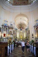 Liškiavos Švč. Trejybės bažnyčia · interjeras 4201