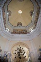 Liškiavos Švč. Trejybės bažnyčia · interjeras, kupolas  4202