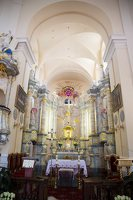 Liškiavos Švč. Trejybės bažnyčia · interjeras 4205