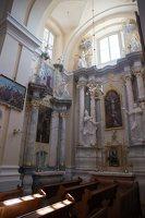 Liškiavos Švč. Trejybės bažnyčia · interjeras 4207