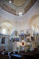 Liškiavos Švč. Trejybės bažnyčia · interjeras 4208