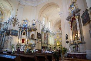 Liškiavos Švč. Trejybės bažnyčia · interjeras 4210