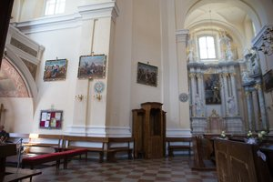 Liškiavos Švč. Trejybės bažnyčia · interjeras 4211