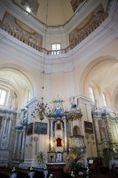 Liškiavos Švč. Trejybės bažnyčia · interjeras 4213