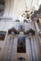 Liškiavos Švč. Trejybės bažnyčia · interjeras 4214