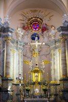 Liškiavos Švč. Trejybės bažnyčia · interjeras 4215