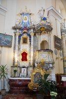 Liškiavos Švč. Trejybės bažnyčia · interjeras 4216