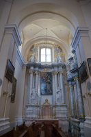 Liškiavos Švč. Trejybės bažnyčia · interjeras 4217