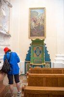 Liškiavos Švč. Trejybės bažnyčia · interjeras 4218