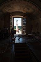 Liškiavos Švč. Trejybės bažnyčia · laiptai į laidojimams skirtus požemius 4221