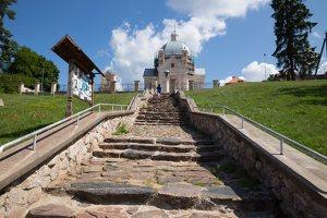 laiptai į Liškiavos Švč. Trejybės bažnyčią 4227